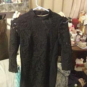 H/m black dress verry nice